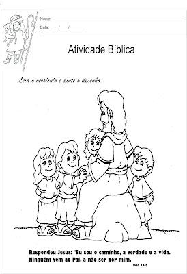 Versículo bíblico para ler e colorir9
