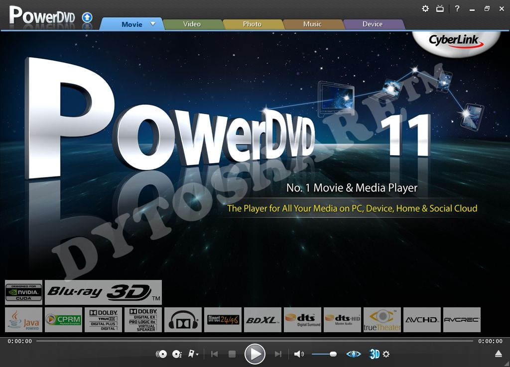 Cyberlink powerdvd ultra deluxe v7 3 3304