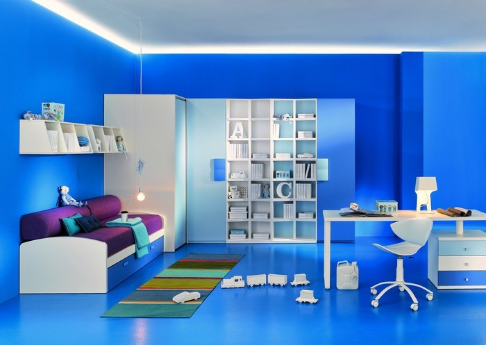 Infinity design 2 - Pareti colorate per camerette ...