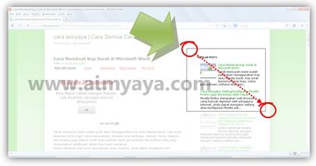 Gambar: Mengambil sebagian layar menggunakan aplikasi Microsoft Office  2010