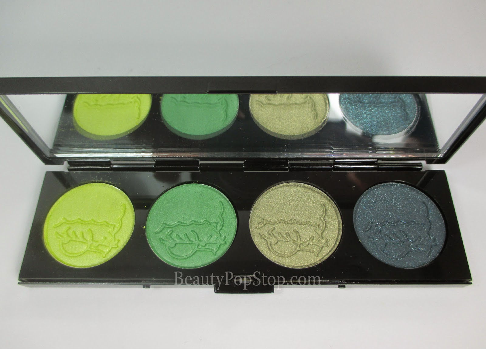 mac x the simpsons that trillion dollar look quad swatches & review