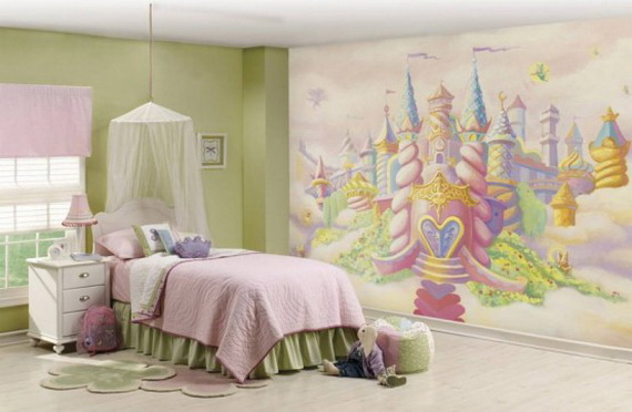 Little Girl Princess Bedroom Ideas