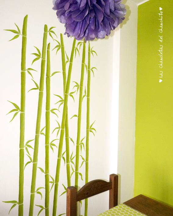 Las chancletas del chanchito bamb - Como pintar bien una pared ...