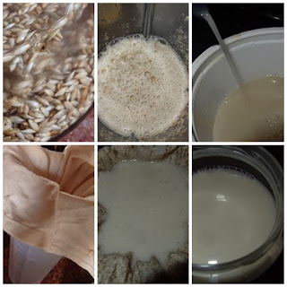 receta de la leche de alpiste