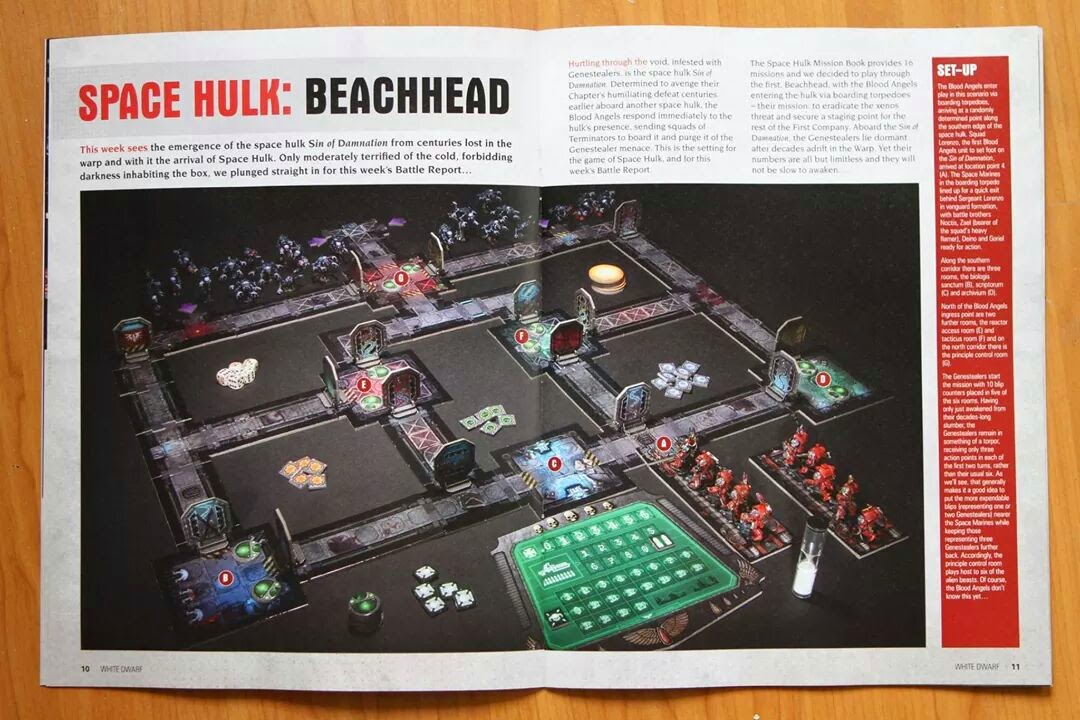 Imágenes de la re-edición de Space Hulk
