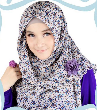 Model Hijab Modern untuk Pesta