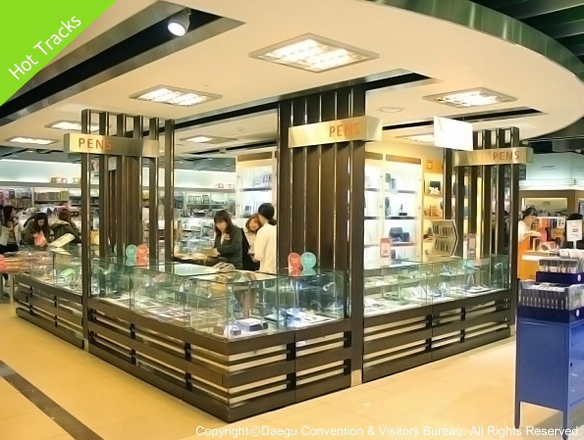 Shopping Areas in Daegu-Hot Tracks at Kyobo Books, Jung-gu