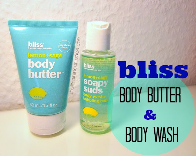 Bliss Lemon+Sage Body Butter & Body Wash