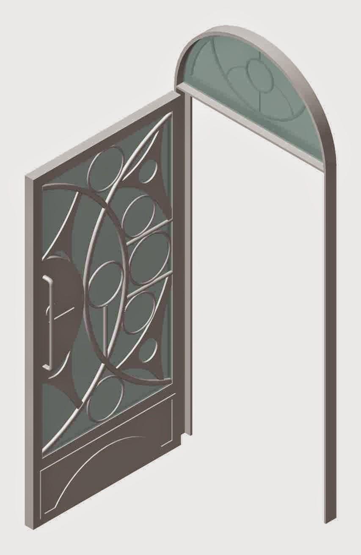 disenos de puertas de metal pictures to pin on pinterest