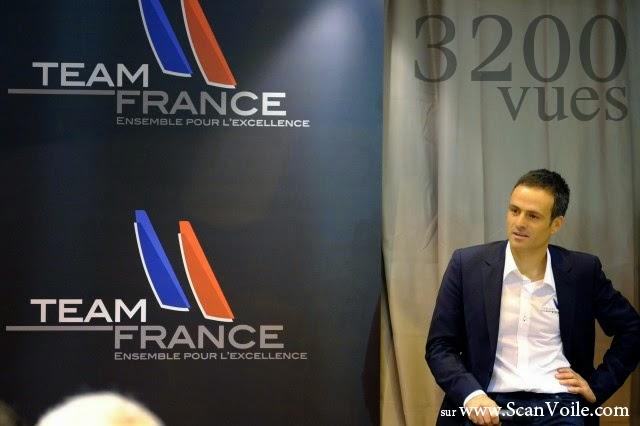 Franck Cammas, par R.Dobremel