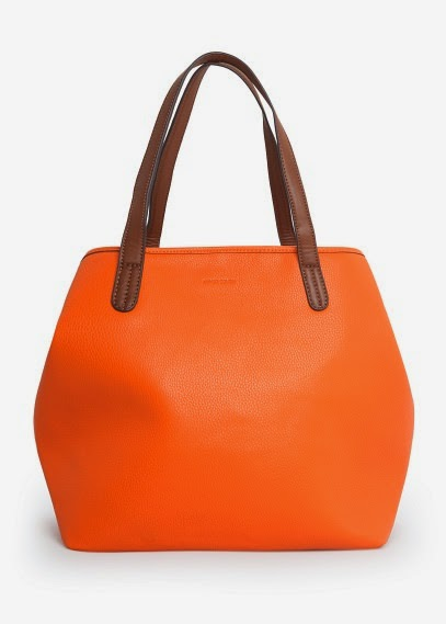 bolso shopper mango