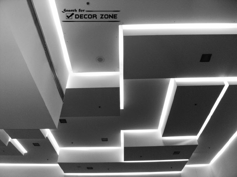 gypsum board false ceiling design