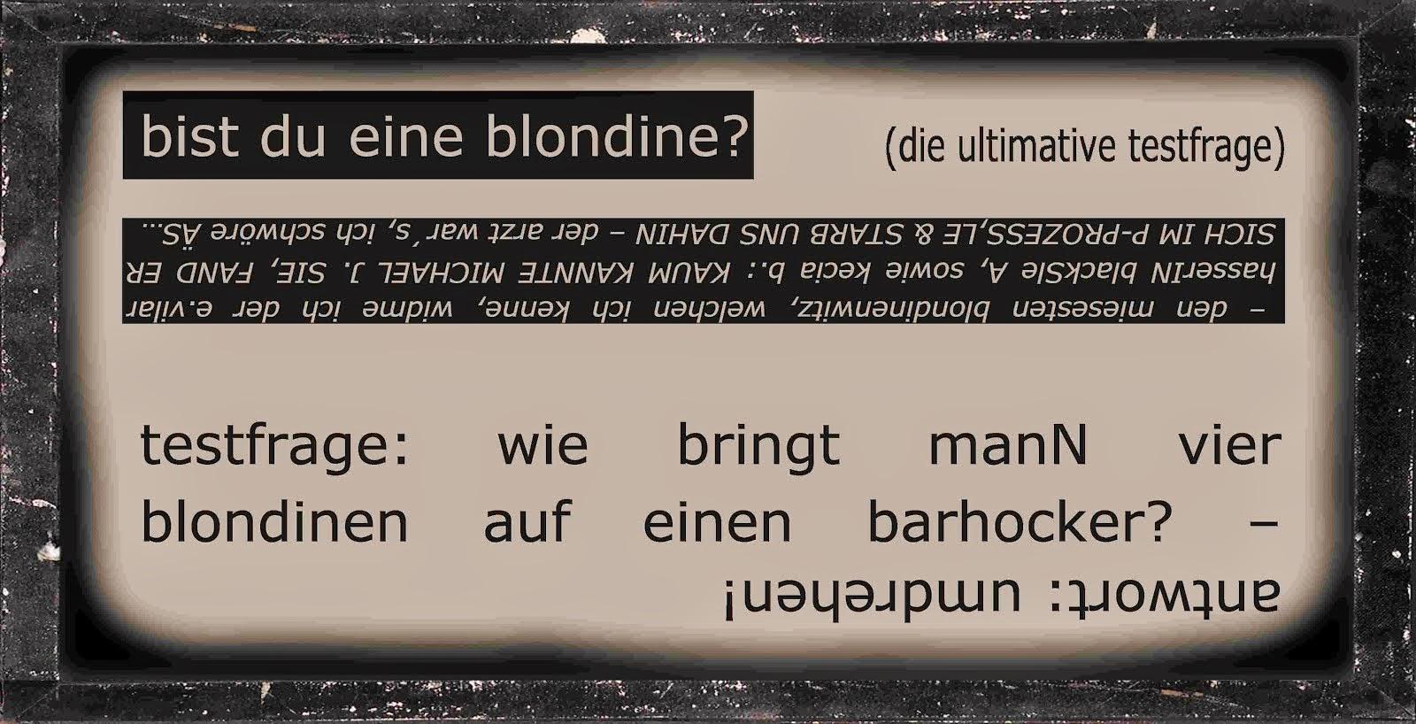 esther vilar der dressierte mann blondinen witze alice schwarzer DER SPIEGEL emanze vs emanzipatiON