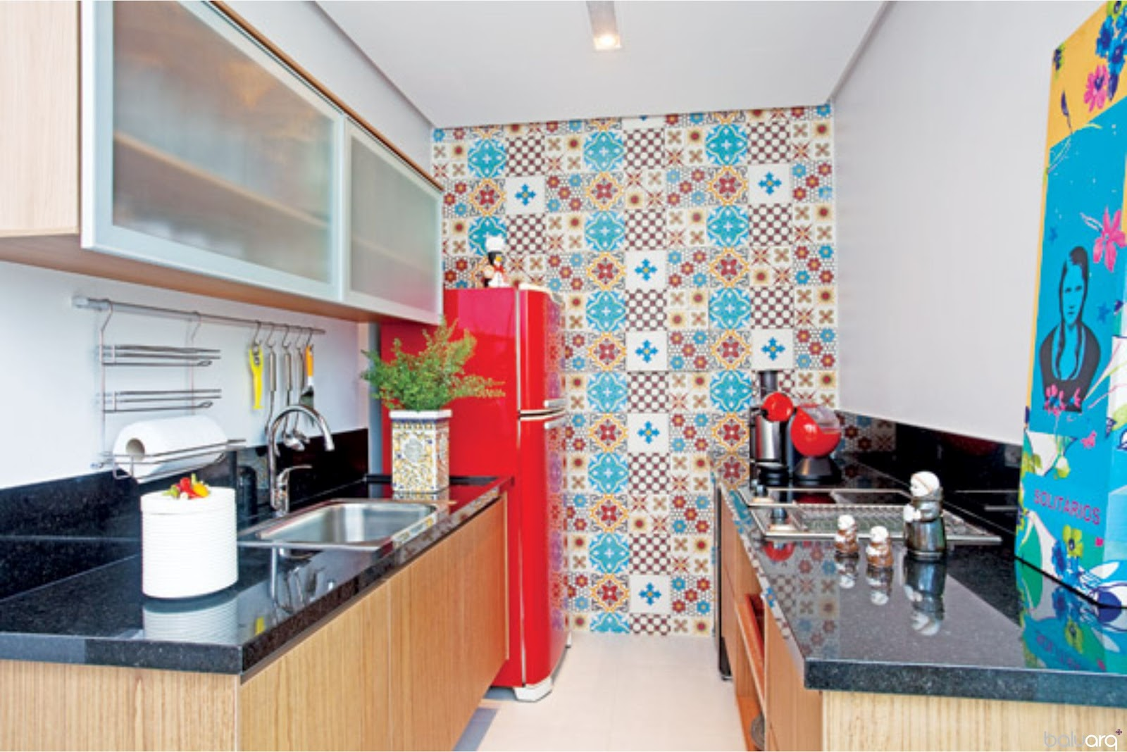 Oficina de Arquitetura: Ladrilho hidráulico e Azulejos Estampados #1093BB 1600 1068