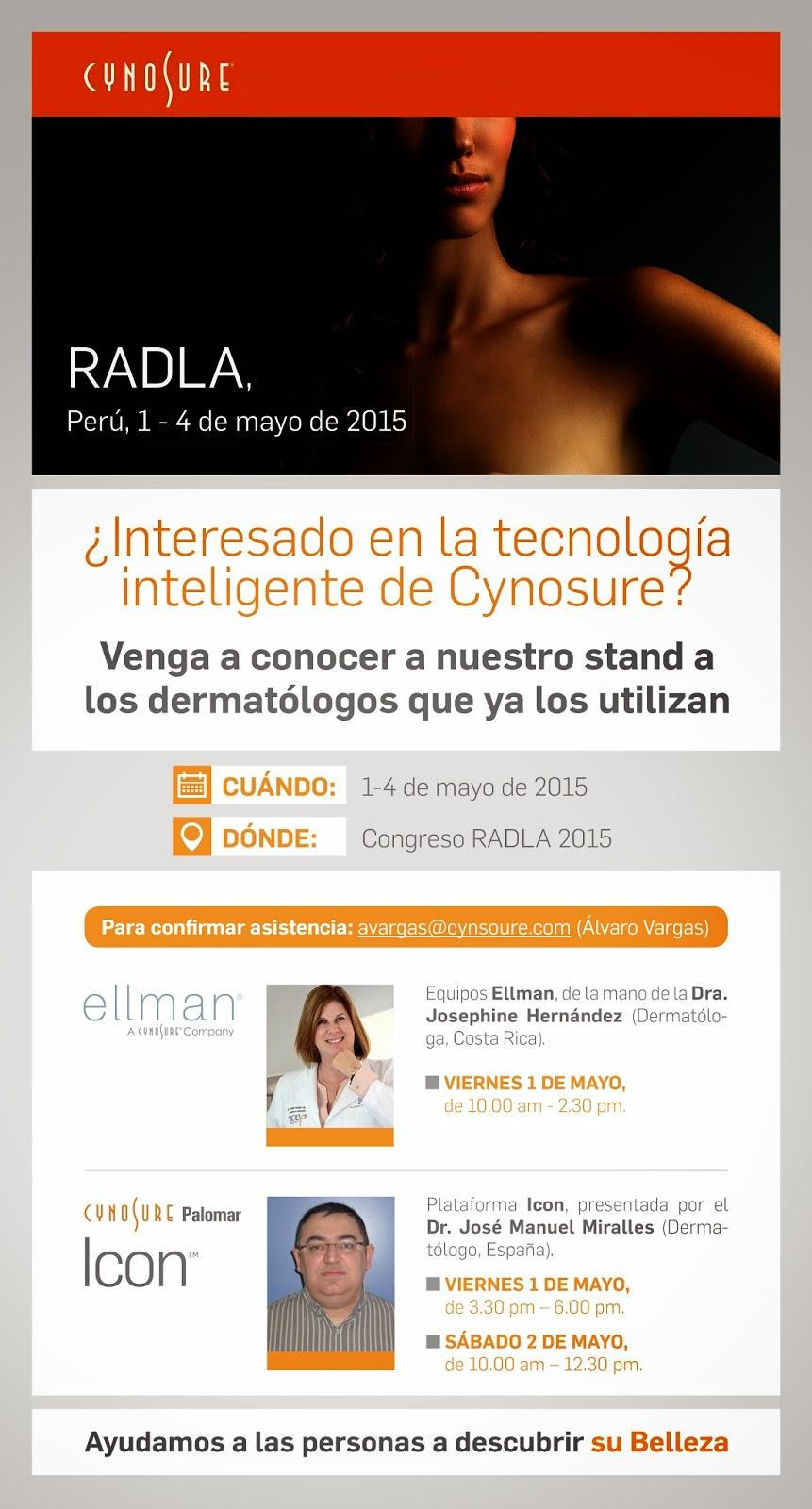RADLA-2015-dermatologia-Miralles-Cynosure-Spain