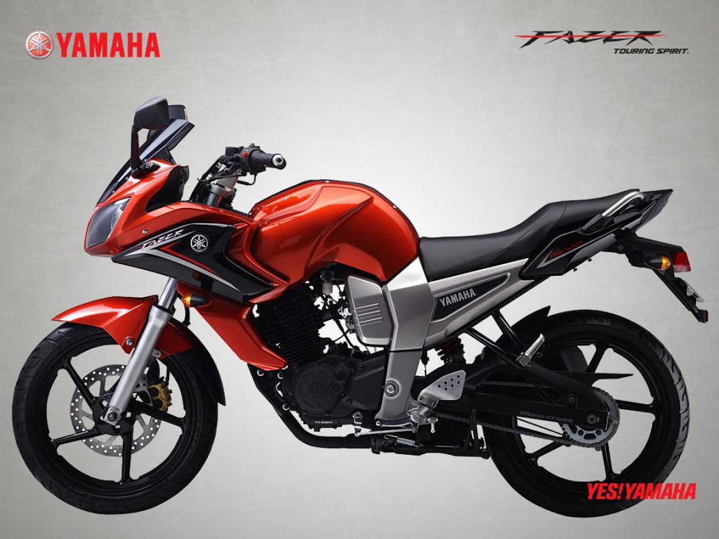 Yamaha fazer white modified