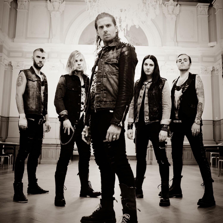 Rock Bands: EUROVISION ADDICT: Ammotrack: A Hard Rock Band From Skövde