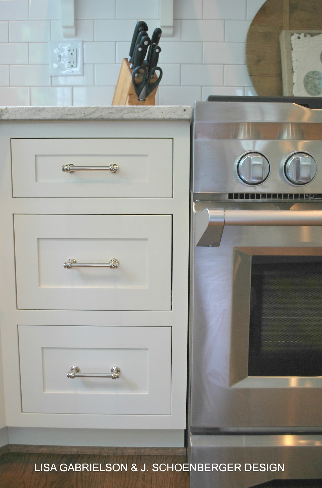 Before and after client kitchen reveal - Restoration hardware cabinets ...