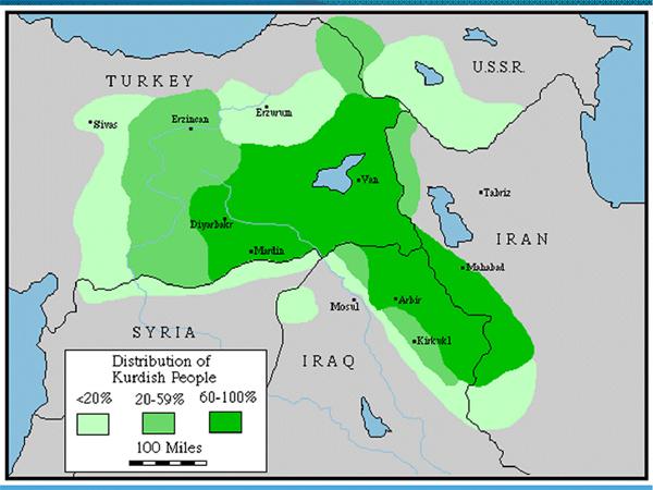 Springtime of Nations Turkish Kurdistan Ground War in Progress