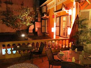 Social club restaurant in Hanoi