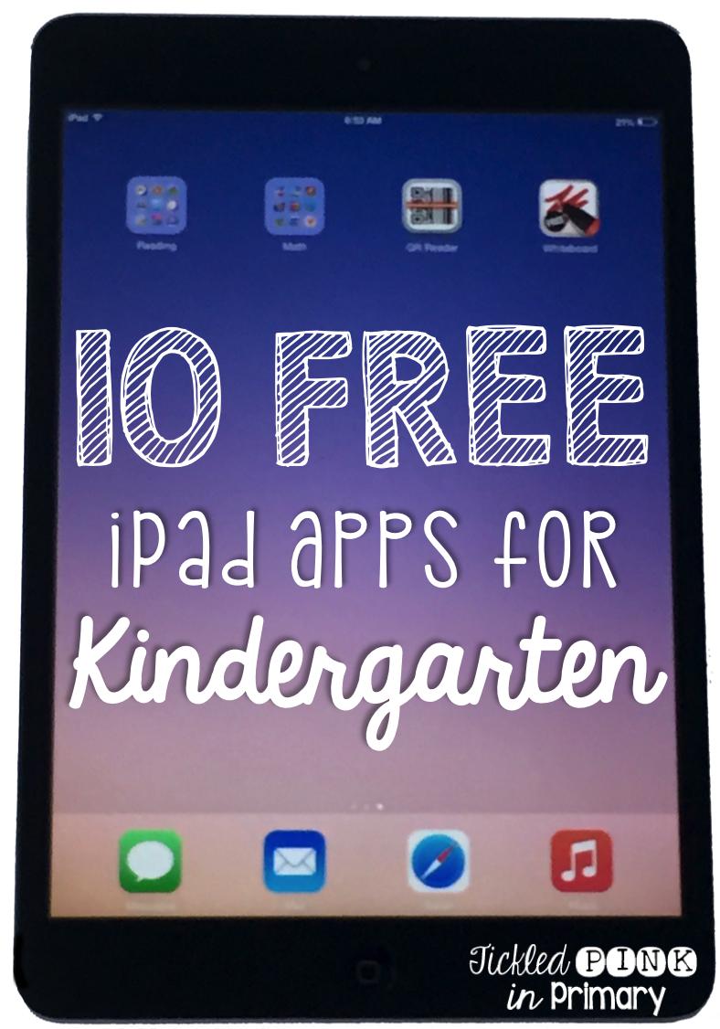 Tickled pink in primary 10 free apps for kindergarten - Kinderapps gratis ...