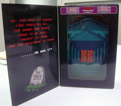 NECA Nightmare on Elm Street NES Freddy Krueger Packaging