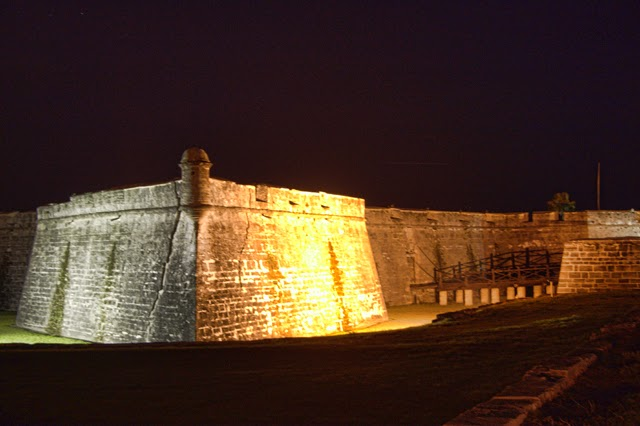 Castillo de San Marcos to host Castillo by Candlelight | StAugustine.com 1 castillio de san marco night 1 1 St. Francis Inn St. Augustine Bed and Breakfast