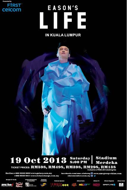 "Eason Chan ""EASON'S LIFE"" concert in KL 陈奕迅 《EASON'S LIFE》演唱会"
