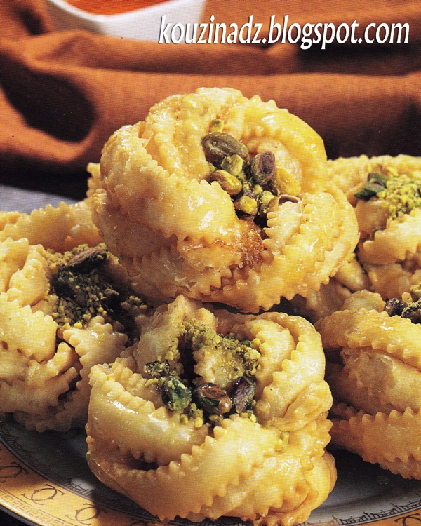La Cuisine Algerienne: La Cuisine Algérienne: Griwech A La Rose