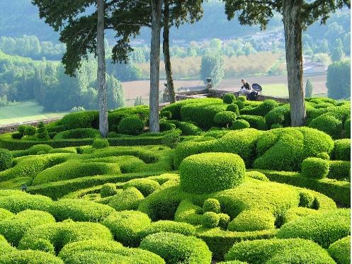 1001archives destinations the amazing gardens of marqueyssac in france - Les jardins de marqueyssac ...
