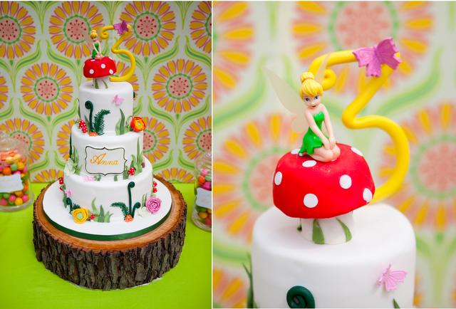 Decoración de Fiestas Infantiles de Tinker Bell y Peter Pan ...