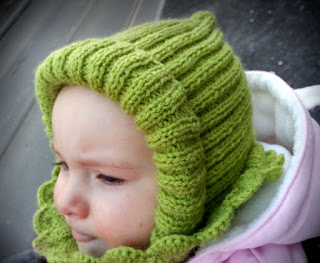 czapka na drutach dzieci
