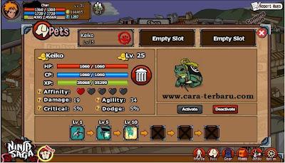 Cheat Ninja Saga Token Permanen Terbaru 2013