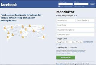 Cara membuat nama hanya satu kata di akun Facebook.