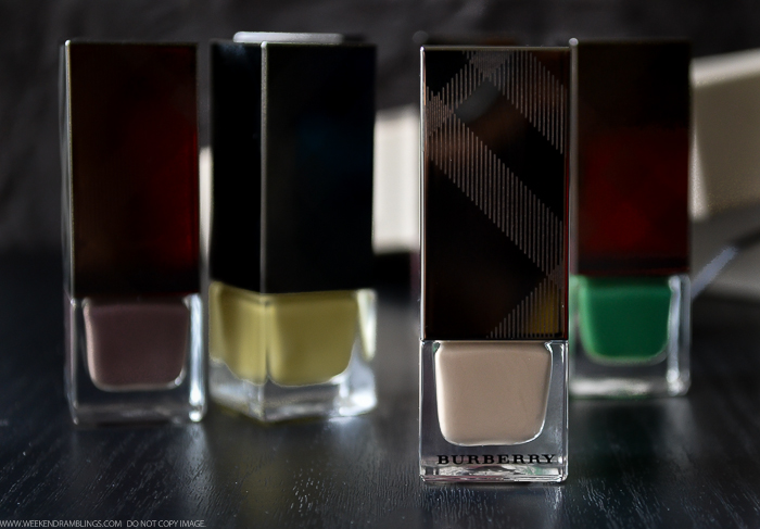 Burberry Nail Polish Mink No105 Photos Swatches NOTD Review