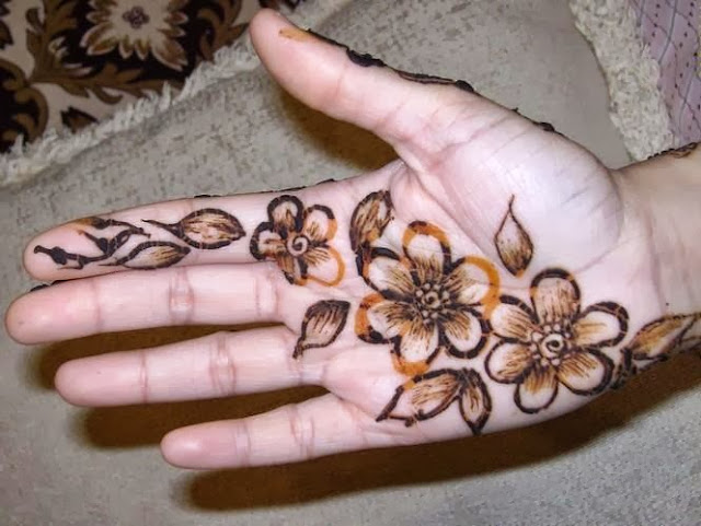 Easy Simple Mehndi Design Wallpapers Free Download
