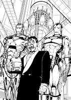 Iron Man Coloriage