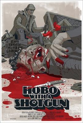 Hobo with a Shotgun: Póster-Cómic
