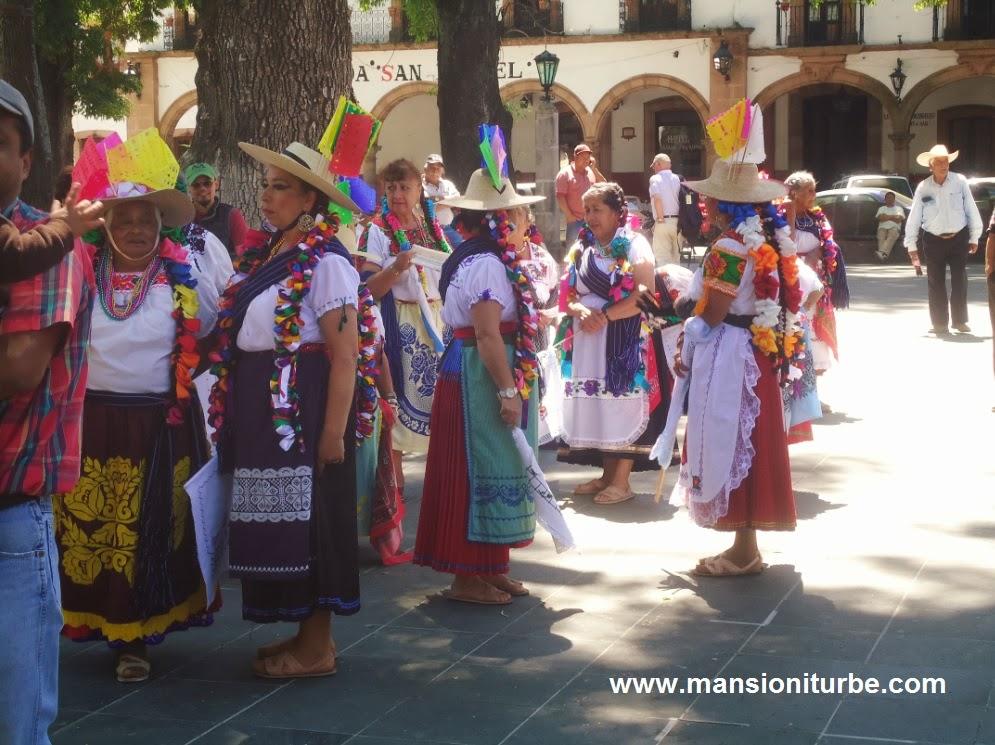 Fetividades del Carnaval en Pátzcuaro
