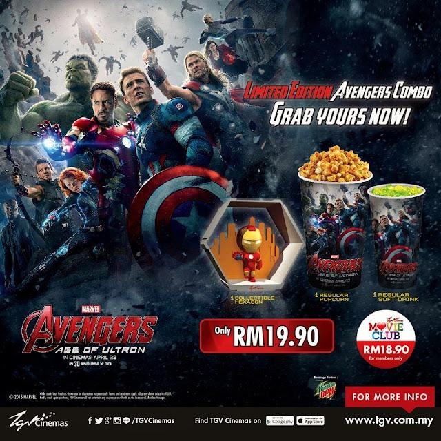TGV Avengers combo