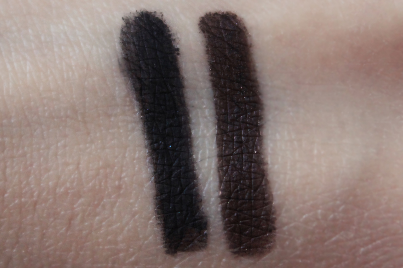 Bobbi Brown, Eyeliner Black Ink, Eyeliner Chocolate Shimmer Ink, Long-Wear Gel Eyeliner, Review