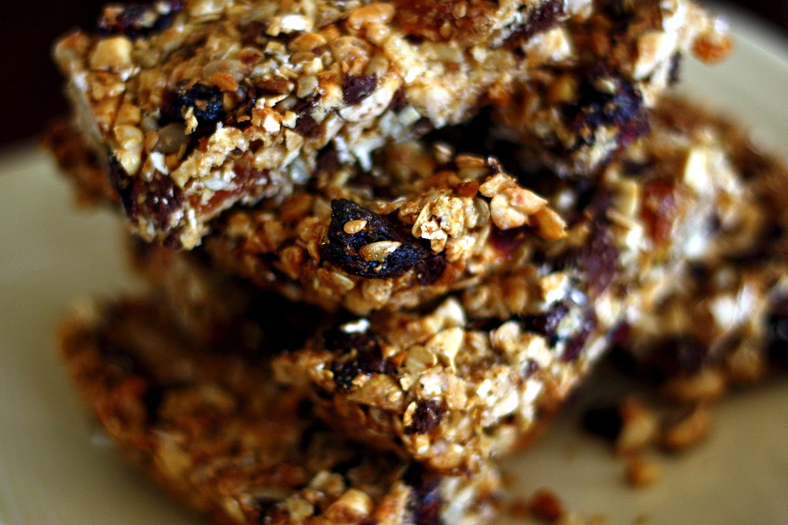 ve made dozens of batches of granola bars in the last year and half ...