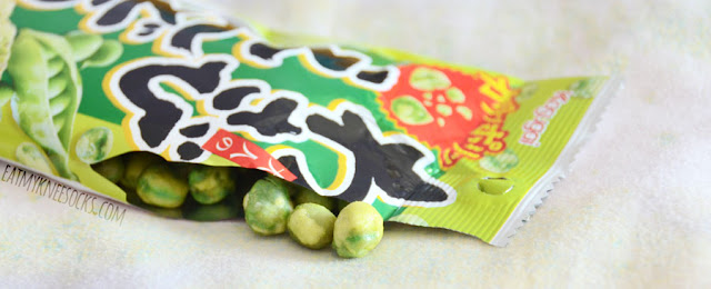 Wasabi endo bean cracker snacks are crunchy Japanese favorites, and you can get a taste of them in the September 2015 Skoshbox DEKAbox!