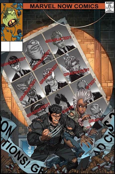 Portada de Lobezno y los X-Men 42
