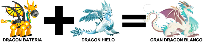 como sacar al dragon al gran dragon blanco en dragon city