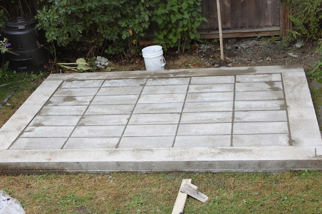 Tifany blog info how to build a shed foundation with pavers for Garden shed floor ideas