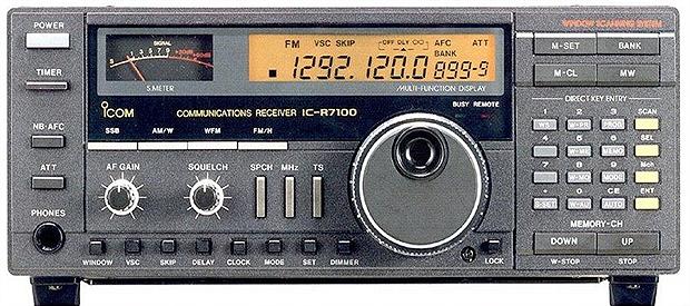 Icom IC R7100