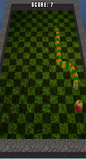 juego 3d snake windows phone