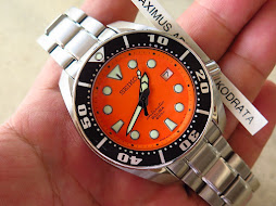 SEIKO DIVER SUMO ORANGE DIAL WITH BRACELET - SEIKO SBDC005 - AUTOMATIC 6R15 - FULLSET BOX AND PAPER