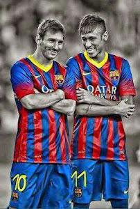 Messi y Neymar Jr, una pareja a la altura de la historia